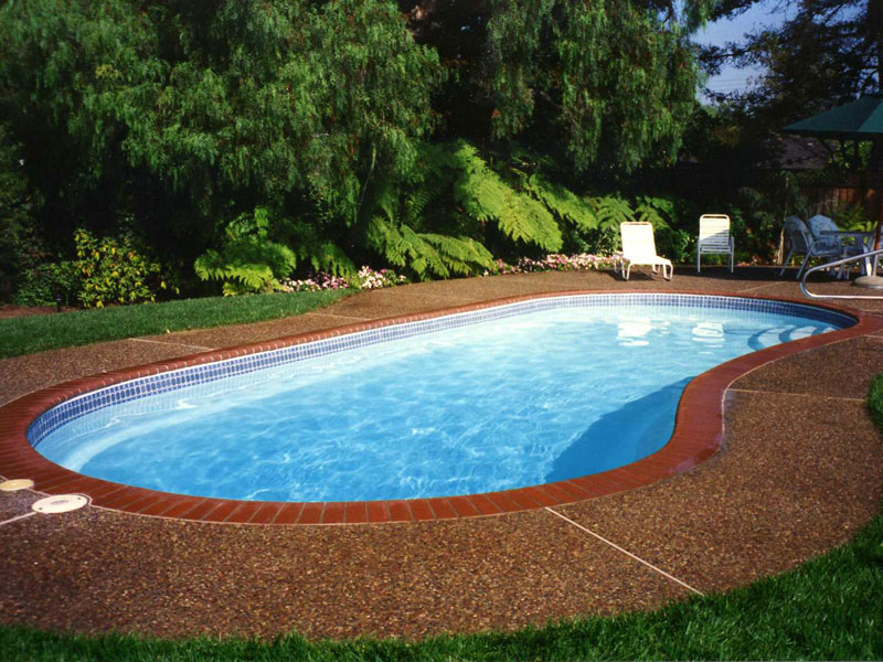 Foust Pool Construction Fiberglass Inground Swimming